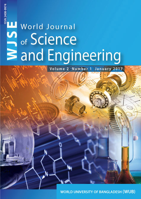 World Journal of Science and Engineering